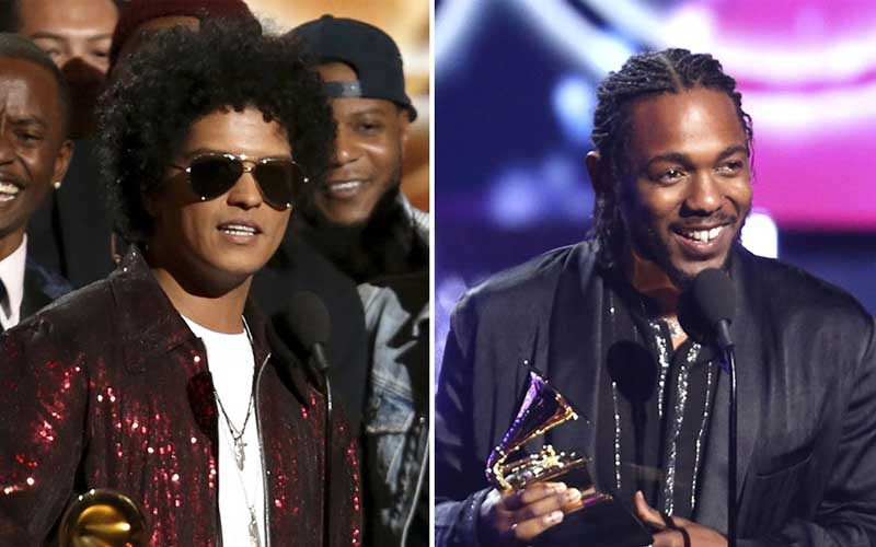 chatter.lkgrammy-awards-2018-bruno-mars-and-kendrick-lamar-win-the-most-awards