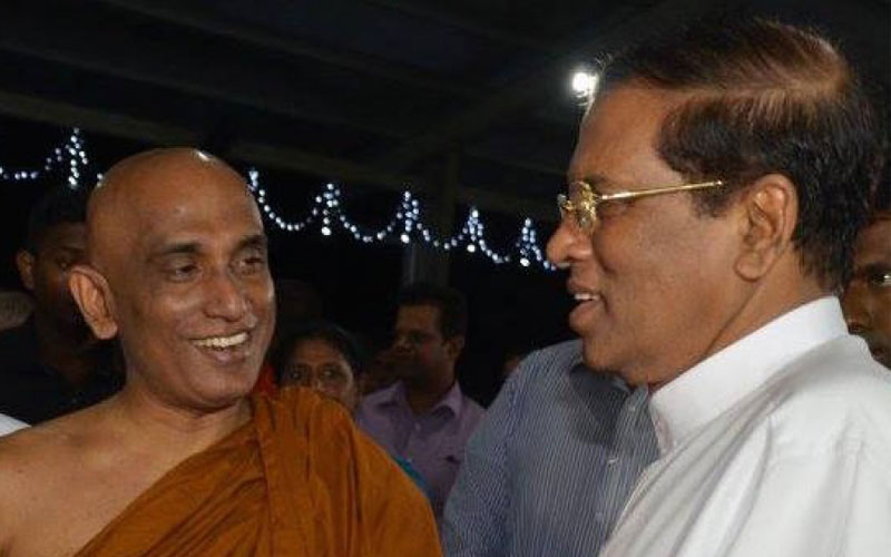 chatter.lkathuraliya-rathana-thera-says-president-sirisena-unaware-of-lifting-of-glyphosate-ban